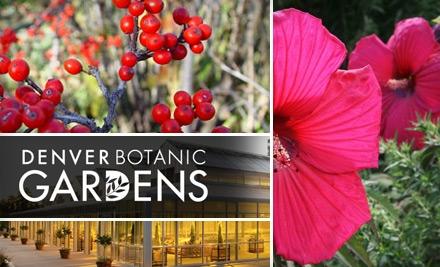 Denver Botanic Gardens Coupons 2017 2018 Best Cars Reviews