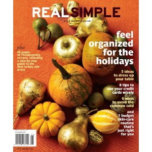 magazine real simple
