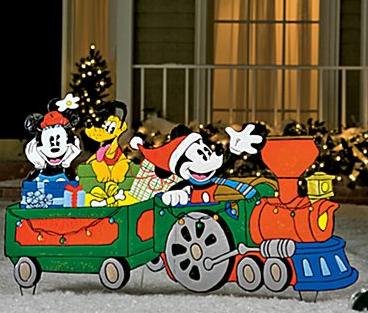 PDF Plans Christmas Train Yard Art Patterns Download DIY