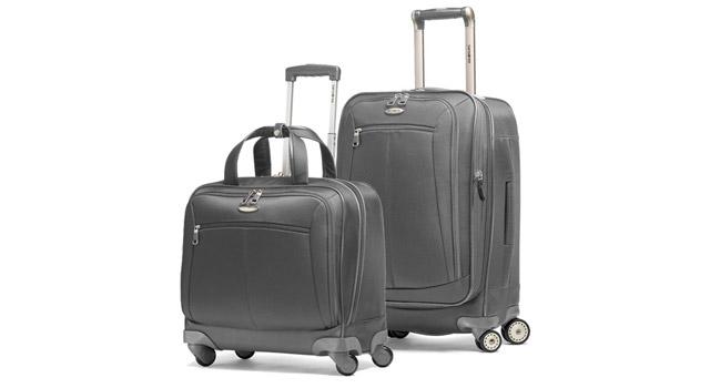 one kings lane samsonite luggage sale. Black Bedroom Furniture Sets. Home Design Ideas