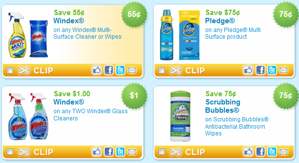 We found all of the Cleaning Supplies coupons available online and put them all on this page so it's super easy to find and print the coupons you want! Clorox® Scentiva™ Multi-Surface Cleaner product (offers May Vary) Print Print this coupon. $ off. Save 50¢ off TWO (2) ARM & HAMMER Carpet Deodorizer. Print Print this coupon.