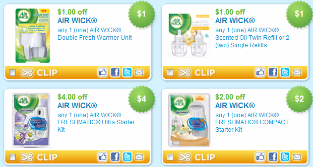 I'm confused, the air wick sets I have from 9/11 with 10/23 exp date have a $/1 compact refill and a seperate $/1 ultra refill but I do not have the B2G1 Freshmatic Refill that is listed here.