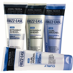FREE Sample of John Frieda Frizz Ease Shampoo and Conditioner!