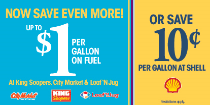 king soopers relaunched their fuel - How To Use Shell Fuel Rewards Card