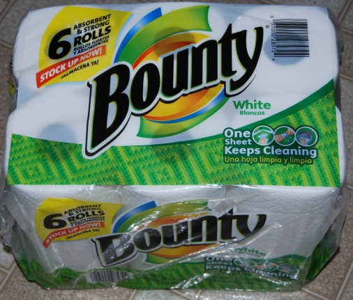 Bounty Paper Towels Cvs: Staples: 6 Pack Of Bounty Paper Towels For $1.99