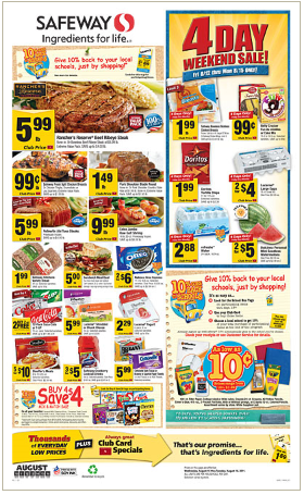 HOT* Updates to Safeway Deals:  49 Cereal and FREE Snacks!