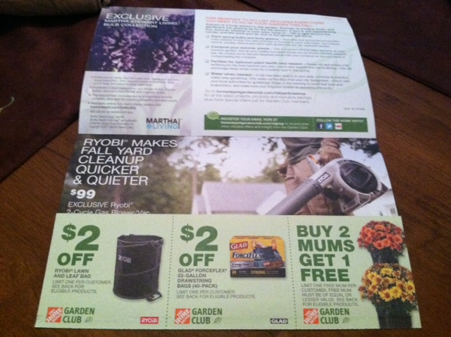 5 Off Home Depot Coupon For Garden Club Members Make