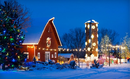Denver Botanic Gardens Trail Of Lights Hot Groupon Deal 10 For 2 People