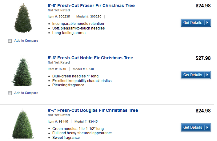 Lowes Fresh Cut Christmas Trees