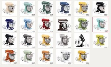 Kitchen Aid Artisan Tilt Head Stand Mixer Just 16299 Shipped