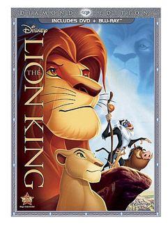 Walmart And Amazon The Lion King Diamond Edition Blu Ray Dvd For 16 96