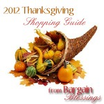 2011 Thanksgiving Meal Shopping Guide!