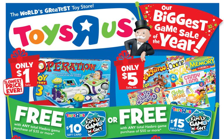 Toys R Us Games : Toys r us deals starting toy story operation game