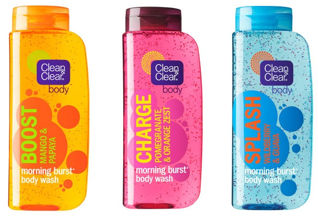 Free Clean Amp Clear Morning Burst Body Wash Sample