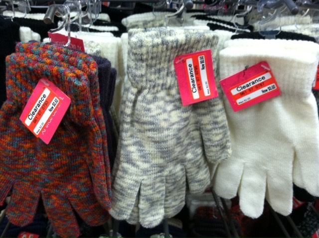 Target: Winter Gloves for Only .30 a Pair!
