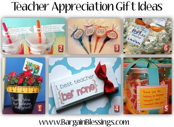 Homemade teacher appreciation gift ideas it negle Image collections