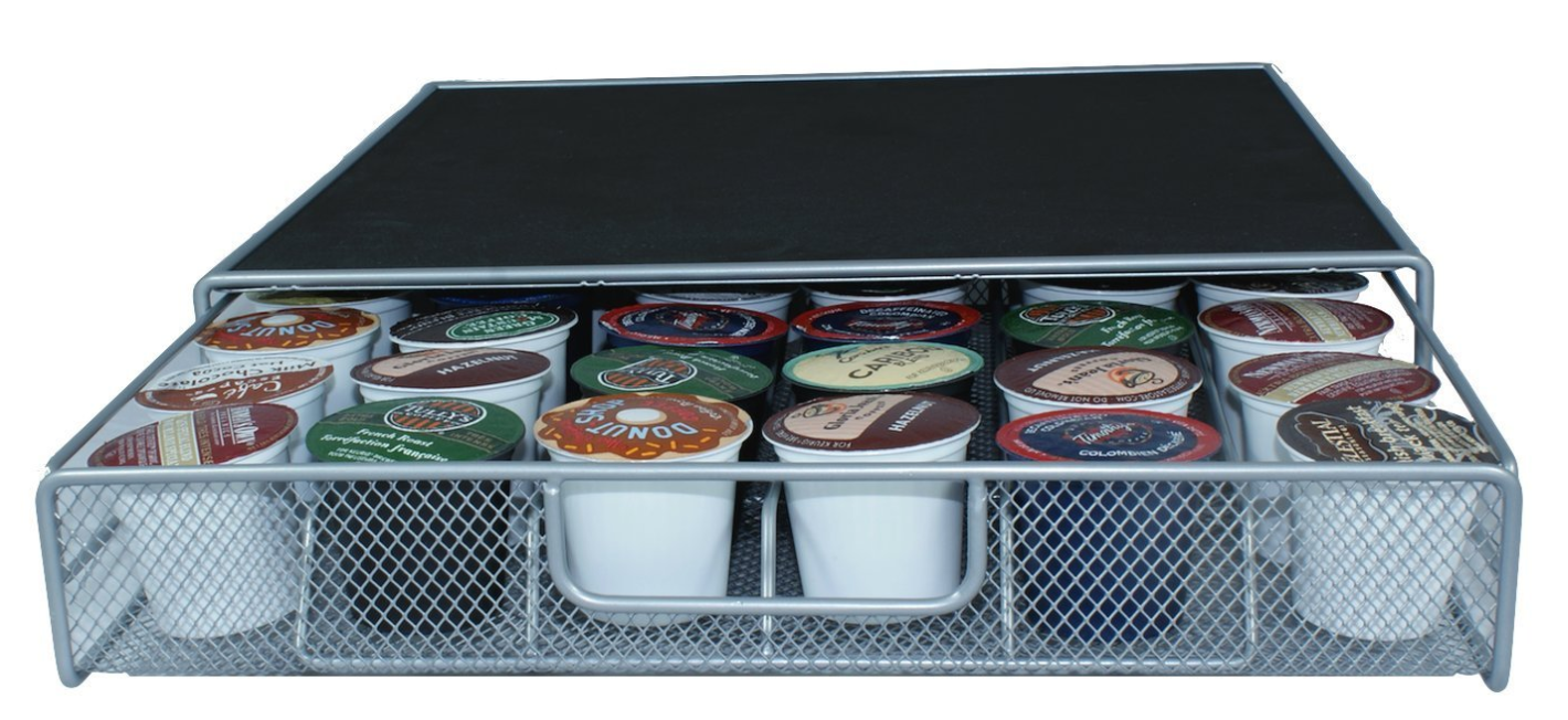 Amazon: Coffee Storage Drawer Holds 36 K-Cups, $14.99!