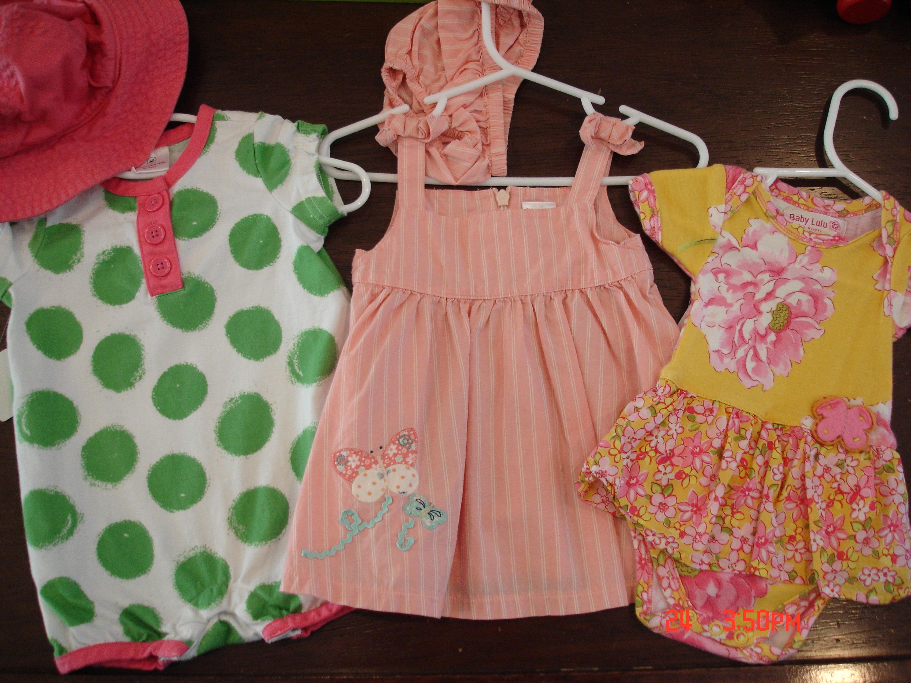 Designer and Name Brand Newborn – 4T Little Girls Clothing Deals