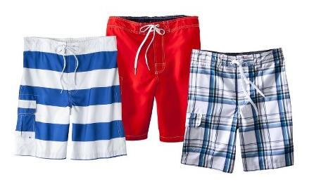 Target: Merona Men's Swim Shorts ONLY $10 Shipped!