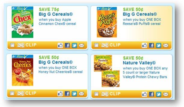 Printable coupons general mills cereal