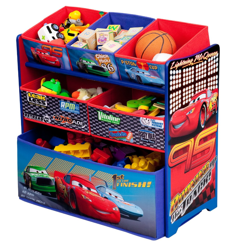 Paw Patrol Toy Organizer Bin Cubby Kids Child Storage Box: Amazon: Disney Multi-Bin Toy Organizers $25 Shipped
