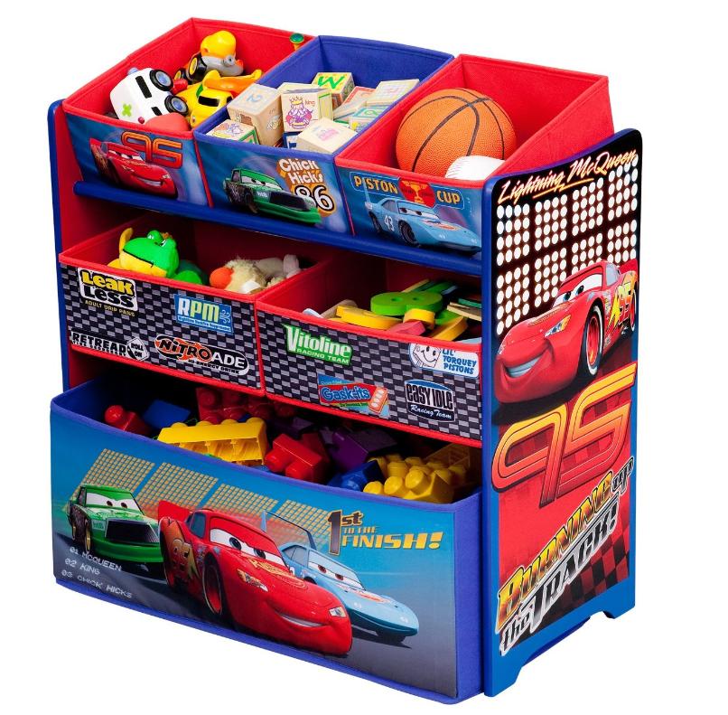Walmart Cars Toys For Boys : Amazon disney multi bin toy organizers shipped