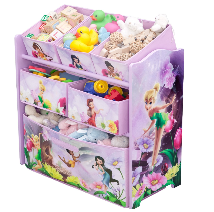 Amazon Disney Multi Bin Toy Organizers 25 Shipped