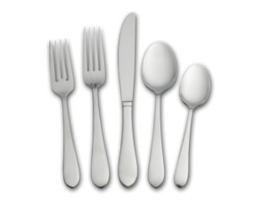 Pfaltzgraff Daily Deal: Salisbury Satin 45 Piece Flatware Set Only