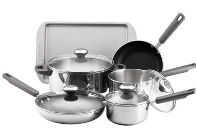 Cookware Deal: Farberware 10-Piece Stainless Steel Set ...