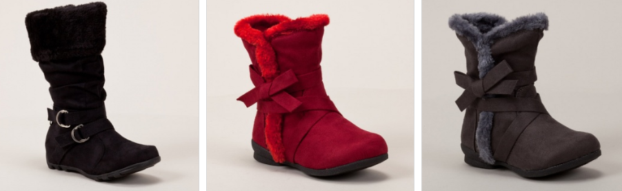 Totsy: Girls' Stylish Boots Only $15!