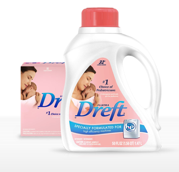 New 2 Dreft Baby Laundry Detergent Coupon