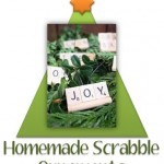 Homemade Scrabble Ornaments: Add Some Custom Words to Your Tree!