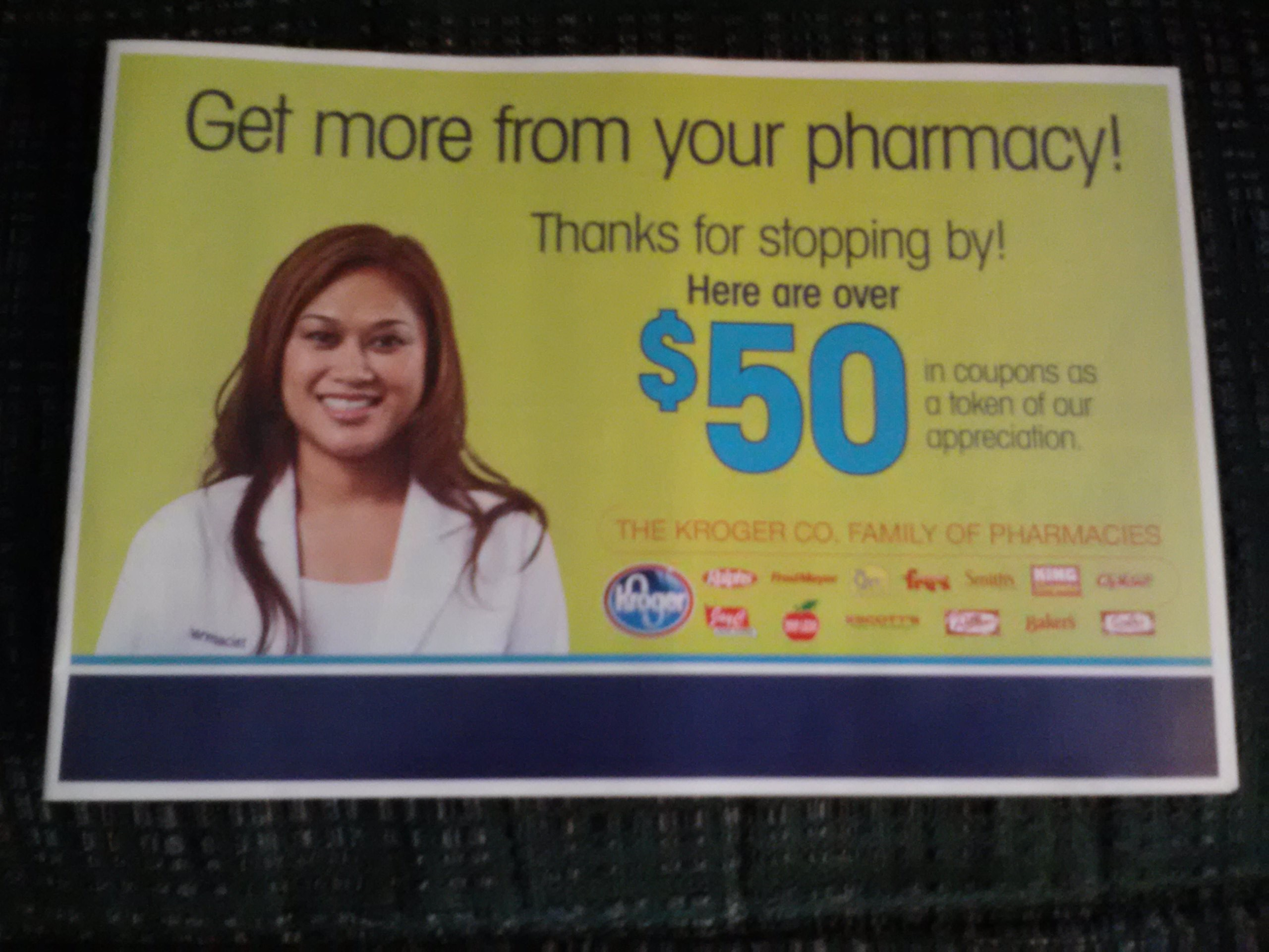 King Soopers Pharmacy Coupon Book: Over $50 in Savings!