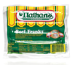 Nathan S Coupon Save 1 On Hot Dogs Sausages And