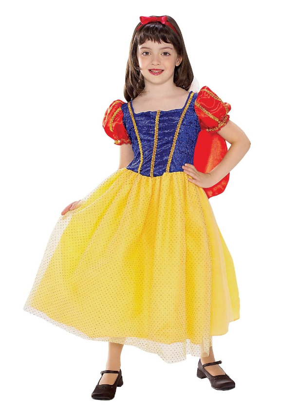 I looked at a few Minnie Mouse costumes in stores (Target, Walmart) and it seems that children's costumes, in general, are not terribly high quality.