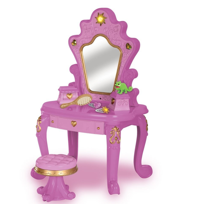 Amazon Disney Tangled Rapunzel Enchanted Doll Vanity Set Only 15 63 Shipped  Amazon Disney Tangled Rapunzel Enchanted Doll Vanity Set Only
