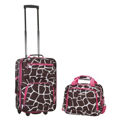 Luggage Deal: Rockl Rolling Carry On With Matching Tote Only $30   ...