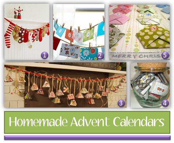 Homemade Calendar Ideas : Homemade advent calendars ideas to spark your creativity