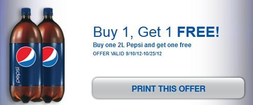 Pepsi 2 Liters Just  49 at Walgreens with New BOGO Coupon!