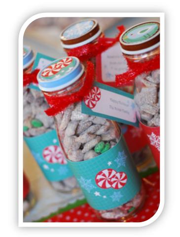 Homemade Christmas Gift Idea Reindeer Food