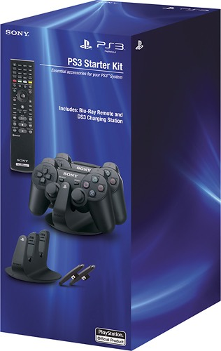 playstation 3 dualshock charging station blu ray remote only shipped. Black Bedroom Furniture Sets. Home Design Ideas
