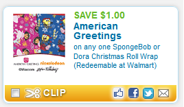 New 1 american greetings coupon free wrapping paper at dollar tree here is your scenario american greetings m4hsunfo