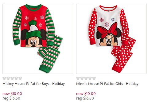 Disney Store Pajama Sale: PJ Pals, Nightshirts and Slippers for $10!