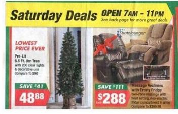 Big Lots Black Friday Deals 2012: Furniture, Electronics and More!