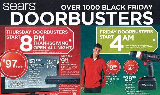 Regardless, Sears is here for Thanksgiving and Black Friday this year, and you have the chance to earn $ Cash Back points when spending $ or more on qualifying purchases. Please note, advertised savings may vary online and in store. Sears opens at 6 pm on Thanksgiving and all day on Friday/5(4).