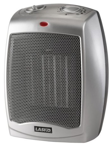 Lasko ceramic space heater with adjustable thermostat only Space heating options