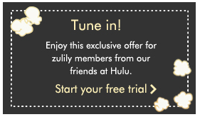 Groupon Exclusive: Free Day Subscription to Hulu's Limited Commercials Plan. Unlimited instant streaming service offers a day trial period to test out its content, which includes popular network TV shows and movies. Hulu also offers a wide array of kids Price: Free.