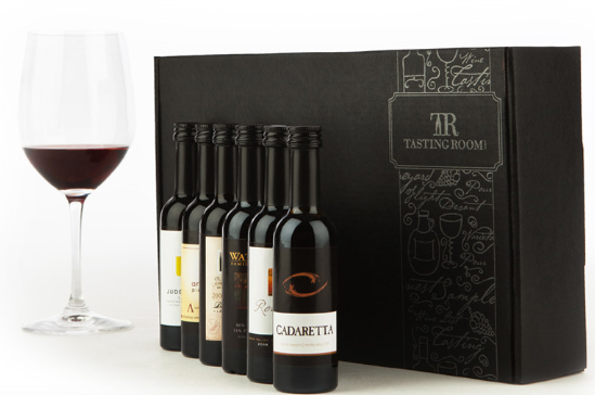 wine sampling gift set  6