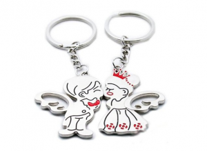 Angel-Kiss-Keychain