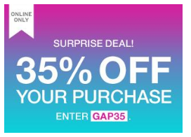 Gap-Coupon